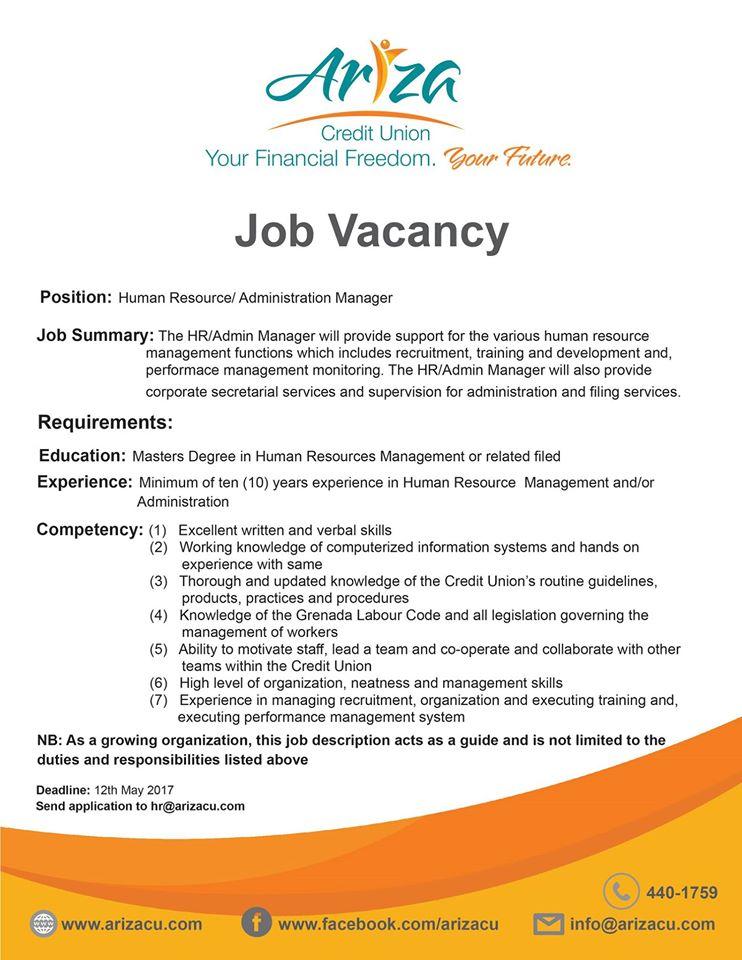 Job Vacancy Grenada